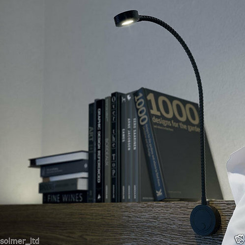 Loox 12V LED Flexible Reading Light USB Charging ports
