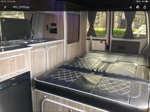 Halifax Campervan bespoke camper kitchen and interiors