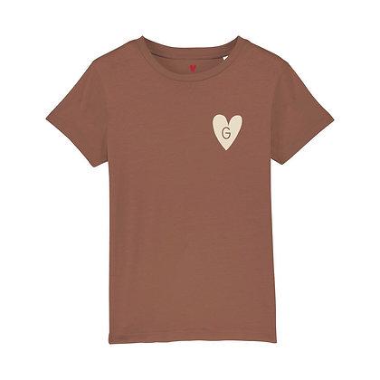 T-shirt enfant initiale