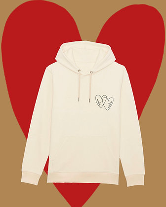 Hoodie adulte double Love