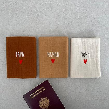 Protège passeport modèle 1