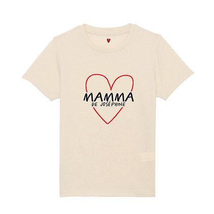 T-shirt gros coeur