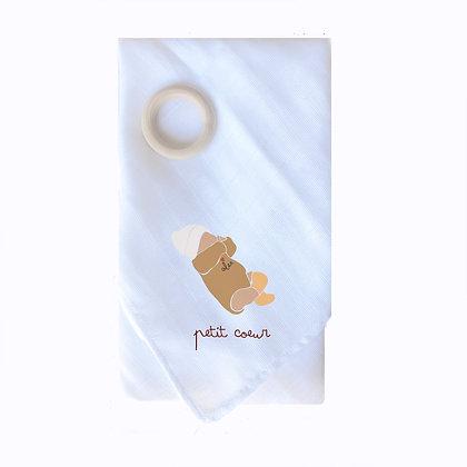 Lange illustré bébé naissance