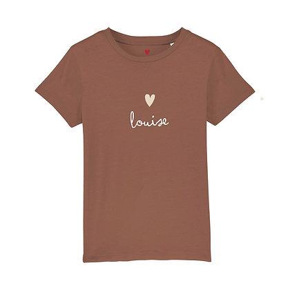 T-shirt enfant manuscrit