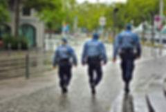 vêtements police