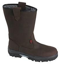 botts hiver cuir sécurité