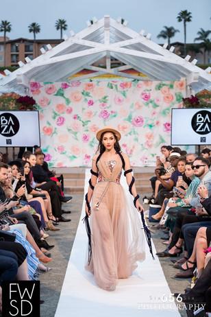Fashion Week San Diego 2018 Spring Showcase Model: Luz Lopez