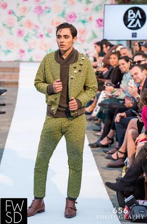 Fashion Week San Diego 2018 Spring Showcase Model: Christian Ibarra