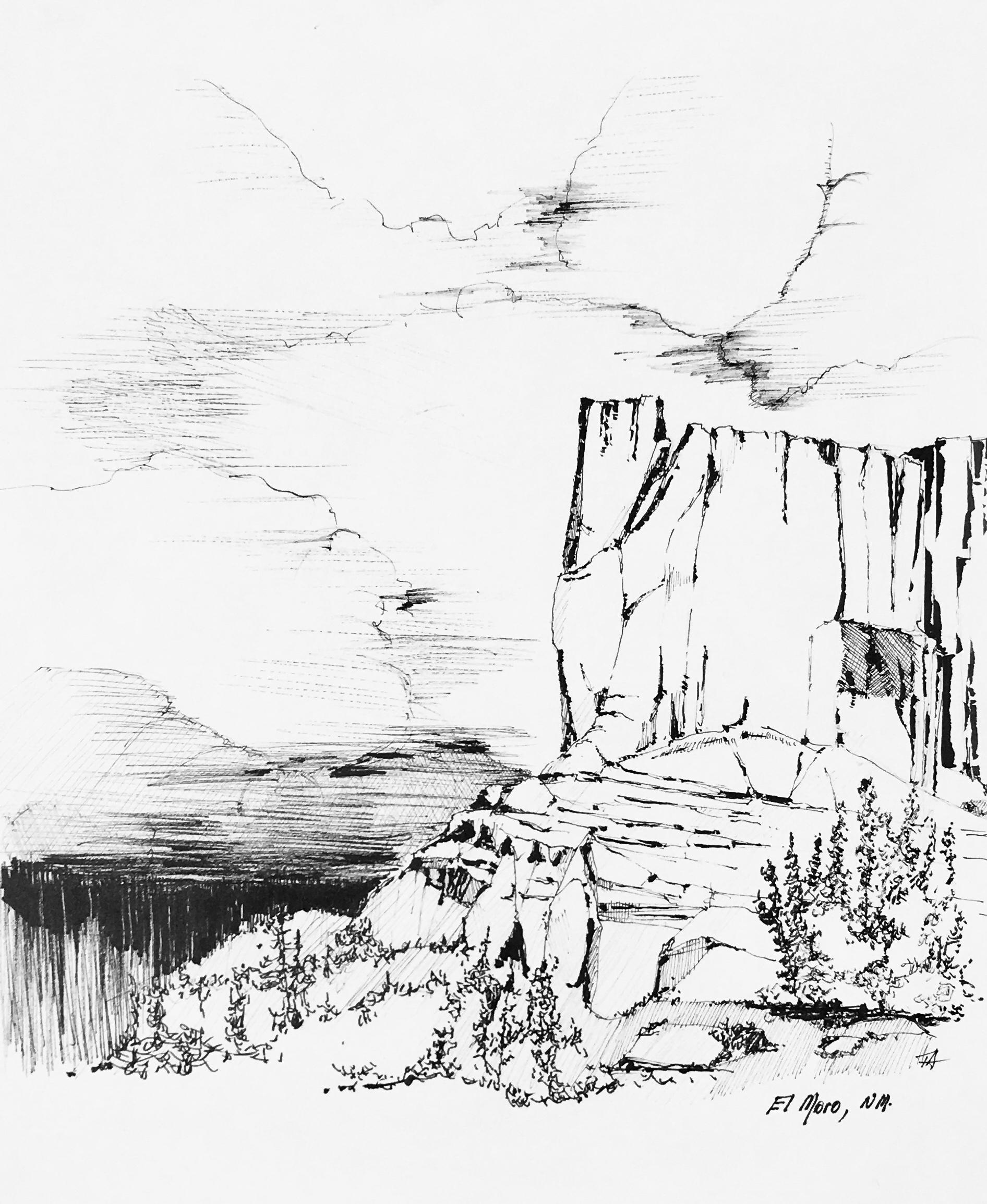 El Moro Cliffs