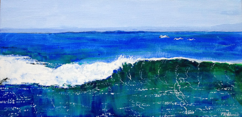 Mountain Beach Waves