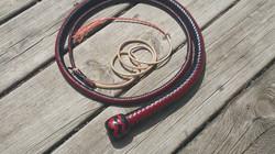5' 12 Plait 2-tone Snakewhip