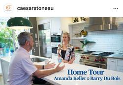 Inside Amanda Keller's New Kitchen