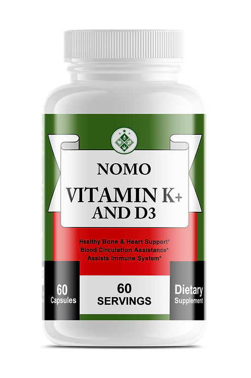 NoMo Vitamin K+ and D3