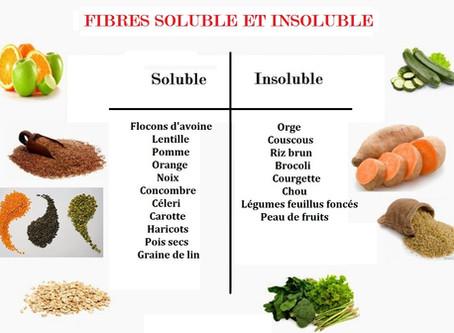 Les fibres, éléments vital pour la santé