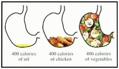Perdre du poids en optimisant le volume alimentaire