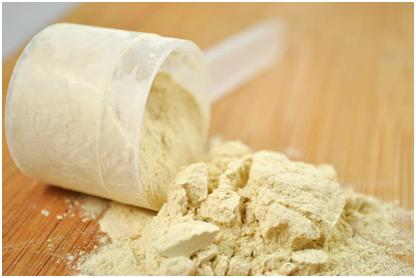 Les protéines de lait en poudre