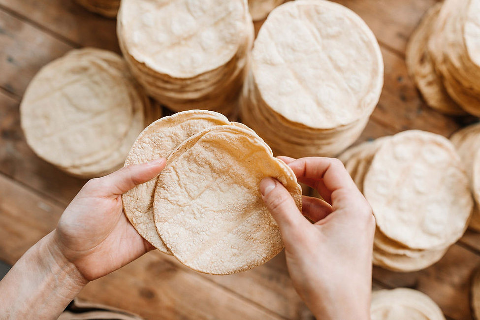 Mais-Tortillas Handgemacht in der Schweiz
