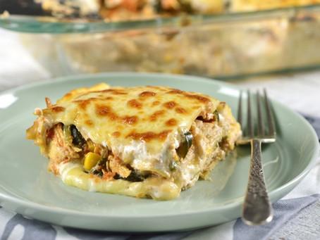 Pastel Azteca (Mexican Lasagna) - with Chicken