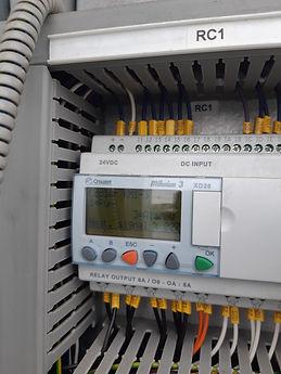 ovládací panel u tepelného čerpadla