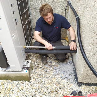 Tepelná izolace trubek otopné soustavy k tepelnému čerpadlu