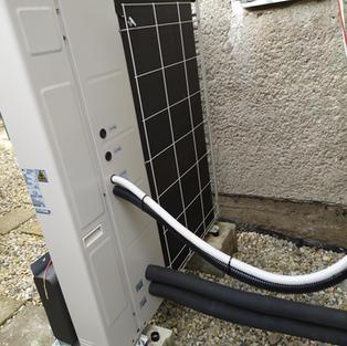 Tepelné čerpadlo - montáž elektroinstalace