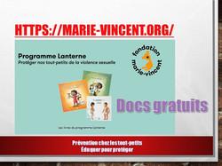 Fondation marie-vincent.org/