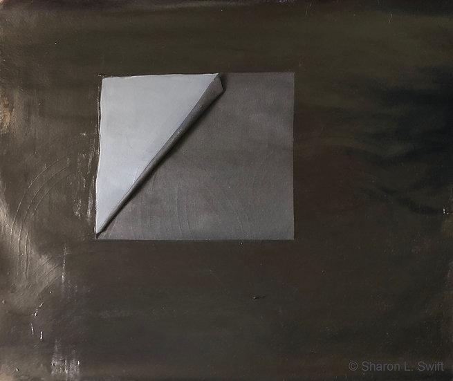 Grey scroll