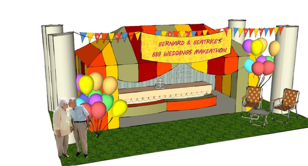 3D Render Southbank Centre
