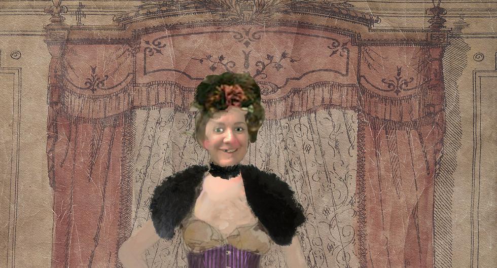 THE BARBER OF SEVILLE- Costume sketch-