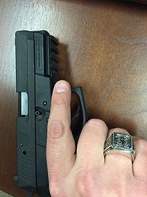 Molon Labe Ring Customer | With Handgun