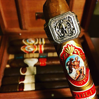 Molon Labe Ring & Cigars | Real Man's Ring