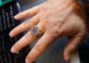 Molon Labe Man's Ring