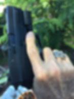 Molon Labe Ring Glock