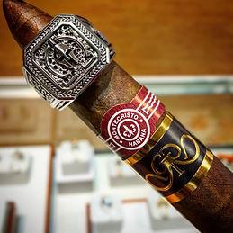 Molon Labe Ring and Fine Cigars