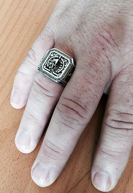 Molon Labe Ring | Customized Spartan Ring