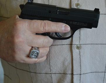 Molon Labe Ring Customer and Gun Rights Advocacy
