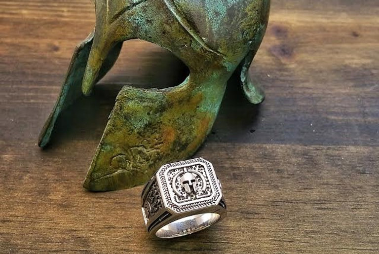 The Molon Labe Ring | Spartan Warrior Ring