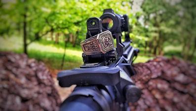 2A Molon Labe Ring AR 15