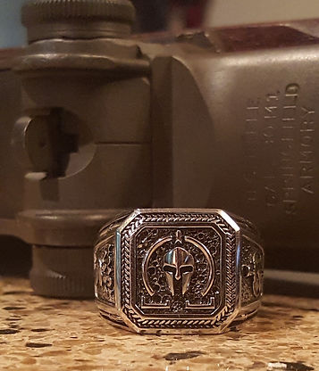 Client Molon Labe Ring with Rifle