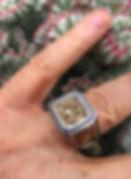 Two Tone Molon Labe Customer Ring