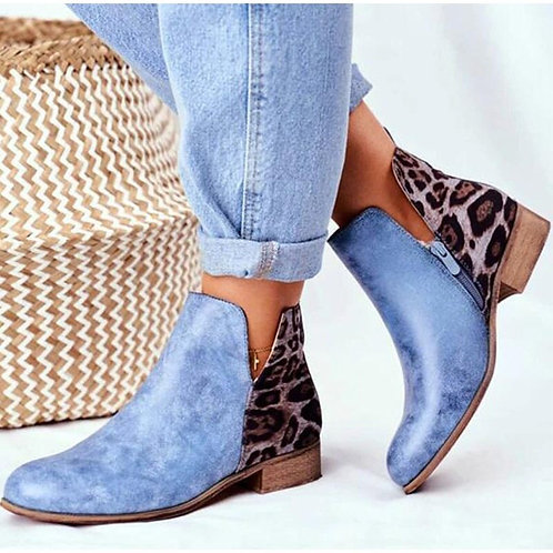 2020 Women Ankle Boots Short Winter Shoes Suede PU Leather
