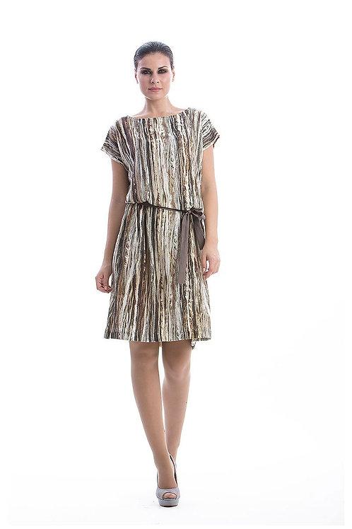 Patterned Sack Dress