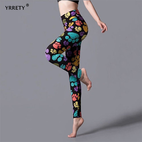 YRRETY Leggings Leopard Women Leopard Print Leggings