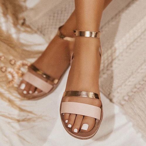 2020 Elegant Ladies Sandals Women Peep Toe Blings Shoes