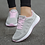 Thumbnail: Women Casual Shoes Fashion Breathable Walking Mesh Flat