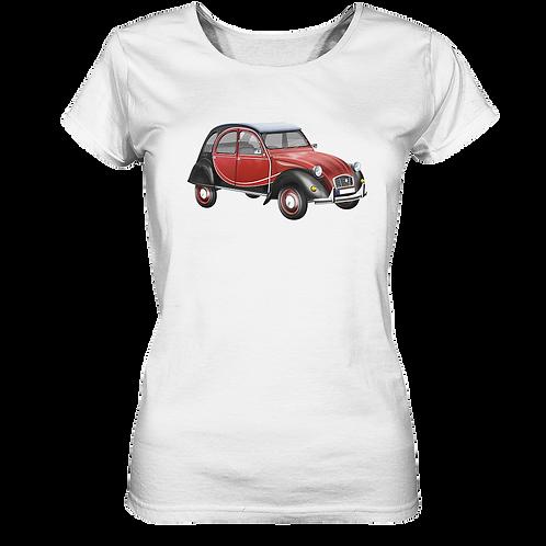 Oldtimer Ente - Ladies Organic Shirt