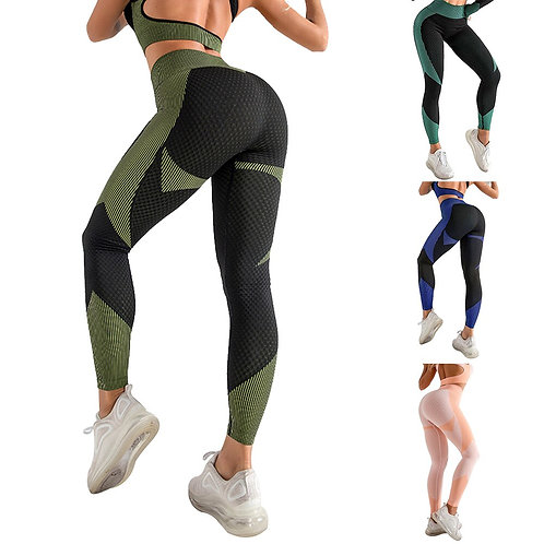 High Waist Yoga Pants Seamless Legging for Women Tummy Control