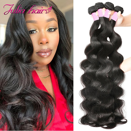 Brazilian Body Wave Hair Bundles 8-30 Inches 100% Human Hair