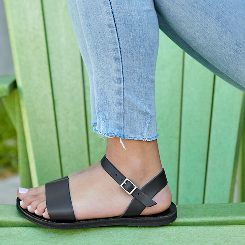 The Aventura Leather Walking Sandal