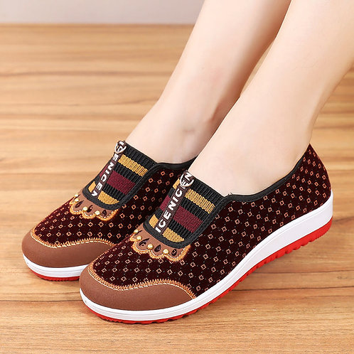 New Style Old Beijing Cloth Shoes Women's Soft Bottom